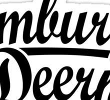 Hamburger Deern Classic (Schwarz) Sticker