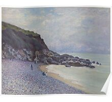 Alfred Sisley - Lady's Cove, Langland Bay, Wales 1897  Impressionism  Landscape  Poster