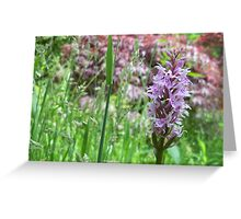 Funky Floral Greeting Card