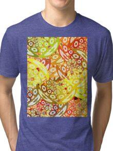 Fruity geometric abstract Tri-blend T-Shirt