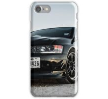 Blk evo iPhone Case/Skin