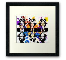 Basquiat Army Framed Print