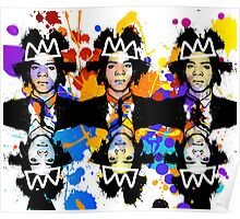Basquiat Army Poster