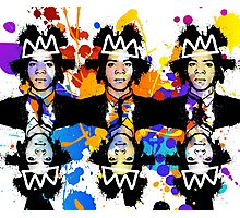 Basquiat Army Photographic Print