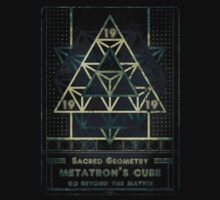 SACRED GEOMETRY METATRON MATRIX Kids Tee