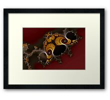 Curious Shapes and Spirals No. 1 Framed Print