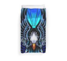 Flying Eagle Tattoo Duvet Cover