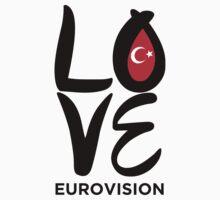 Love Eurovision [Turkey] One Piece - Long Sleeve