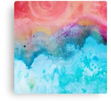 Blue Zen Canvas Print