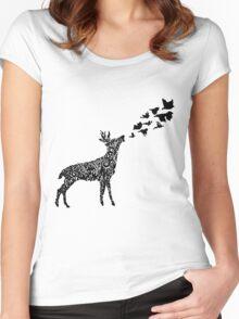 Low Roar Women's Fitted Scoop T-Shirt