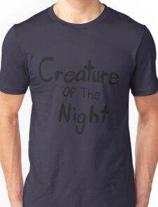 Creature of The Night Unisex T-Shirt