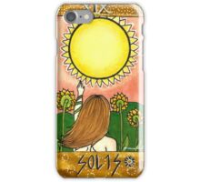 Sun Tarot Card iPhone Case/Skin