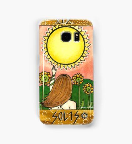 Sun Tarot Card Samsung Galaxy Case/Skin