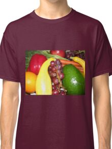 Fruit and Veggies Classic T-Shirt