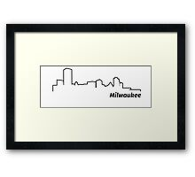 Milwaukee, Wisconsin Framed Print