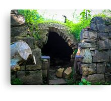 Igloo Of Stone Canvas Print