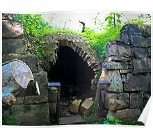 Igloo Of Stone Poster