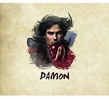 Damon - The Vampire Diaries Photographic Print