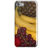 Grapes Pepper Banana and Pineapple iPhone Case/Skin