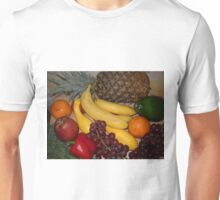 Grapes Pepper Banana and Pineapple Unisex T-Shirt