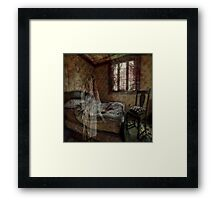 Just a nightmare Framed Print