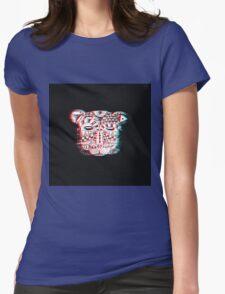 Spirit Bear 3D Womens Fitted T-Shirt