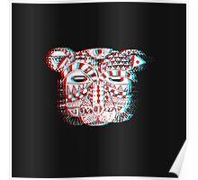 Spirit Bear 3D Poster