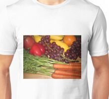 Carrots Pepper Banana and Orange Unisex T-Shirt