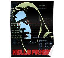Hello Friend Poster