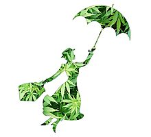 Weed Mary Poppins Photographic Print