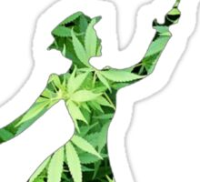 Weed Mary Poppins Sticker