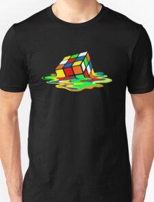 1 Big Bang Theory Sheldon Cooper Melting Rubik's Cube cool geek T-Shirt