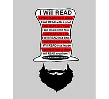 I will read on a boat Photographic Print