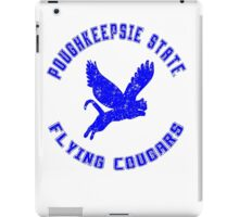 POUGHKEEPSIE STATE FLYING COUGARS iPad Case/Skin