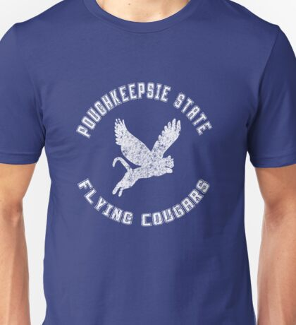 POUGHKEEPSIE STATE FLYING COUGARS Unisex T-Shirt
