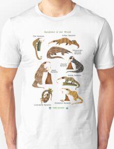 Pangolins of the World T-Shirt
