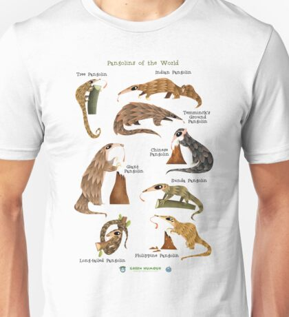 Pangolins of the World Unisex T-Shirt