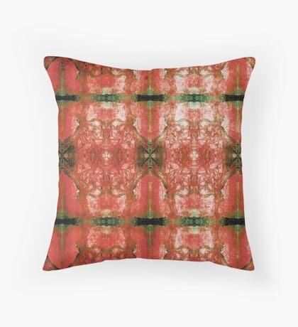 Arboretum Rojo Throw Pillow