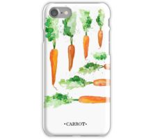 Carrot Matrix iPhone Case/Skin