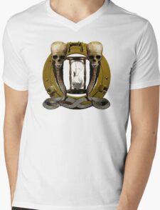 Romance Of Piracy Encapsulated Mens V-Neck T-Shirt