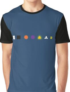 The Witness - Puzzle Types Graphic T-Shirt