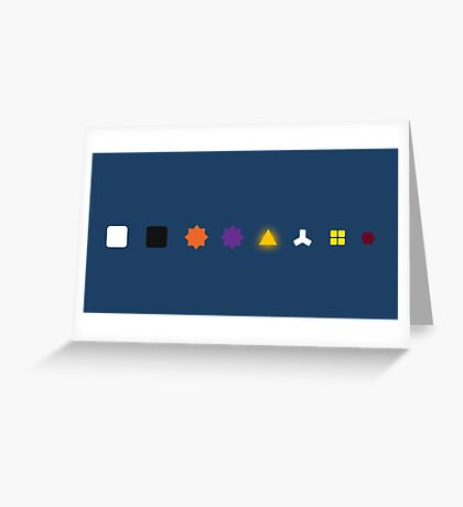 The Witness - Puzzle Types Greeting Card
