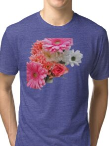 Barbie Flowers Tri-blend T-Shirt