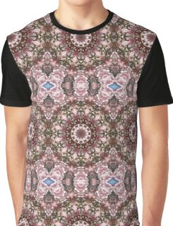 Spring blossoms, Floral mandala-style, Flower Mandala Graphic T-Shirt