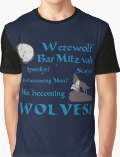 Werewolf Bar Mitzvah Graphic T-Shirt