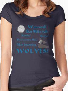 Werewolf Bar Mitzvah Women's Fitted Scoop T-Shirt