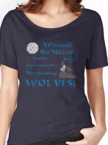 Werewolf Bar Mitzvah Women's Relaxed Fit T-Shirt
