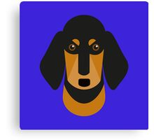 Sausage Dog Canvas Print