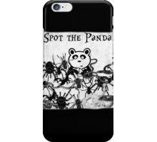 Spot the Panda iPhone Case/Skin