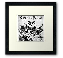 Spot the Panda Framed Print